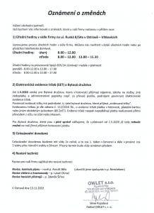 Owlet - dokument
